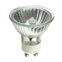 PLATINUM 50w 120v MR16 EXN GU10 Flood w/ Front Glass Halogen Light Bulb
