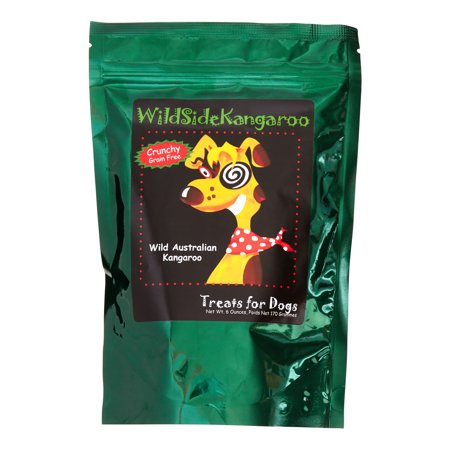 Wildside Kangaroo Apple Dog Treats, 6 Oz
