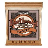 Ernie Ball 2148-U 0.011-0.052 Gauge Earthwood Light Phosphor Bronze Acoustic Guitar Strings