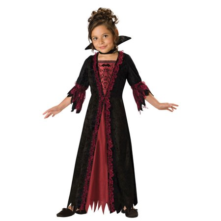 In Character New Girls Cute Victorian Vampire Halloween Costume