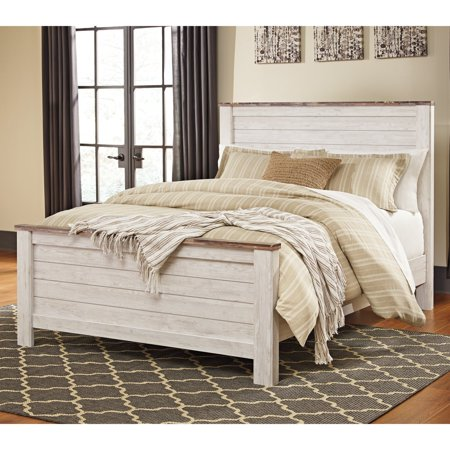 Signature Design By Ashley Willowton Panel Storage Bed