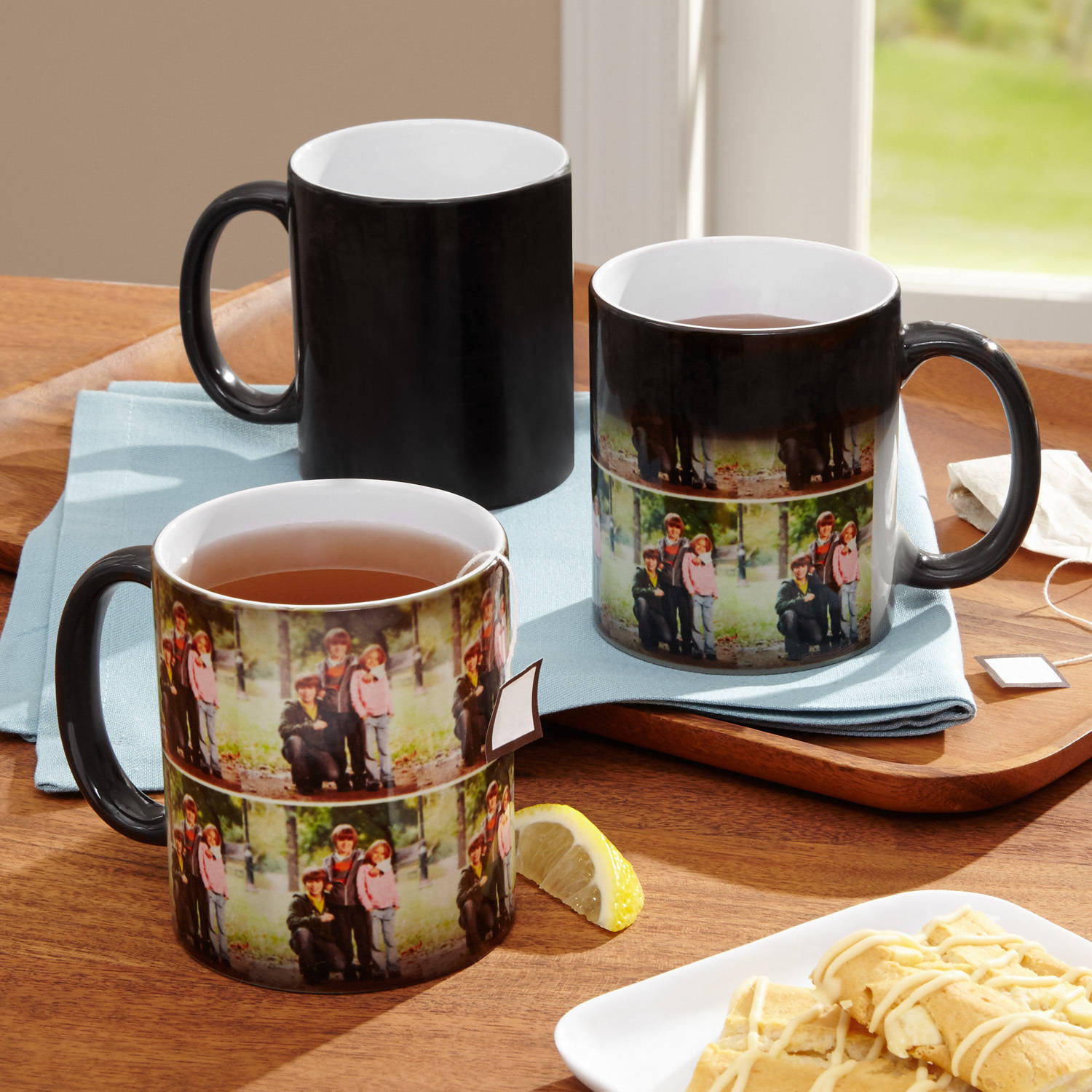 Personalized Multi Photo Color Changing Coffee Mug 11 Oz Walmartcom