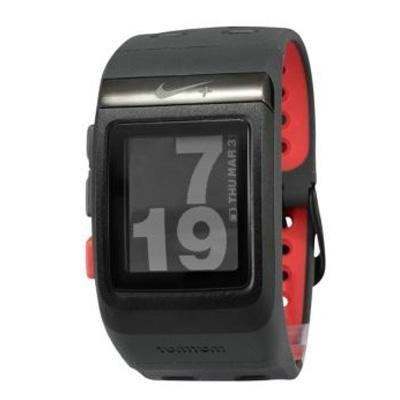 Nike+ Sport Watch GPS Powered by TomTom (Black Red) by Nike%2C Inc.