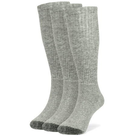 Galiva Girls' Cotton ExtraSoft Over the Calf Cushion Socks - 3 Pairs