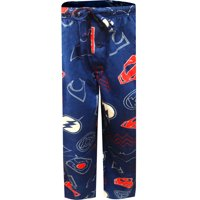 Justice League Mens Sueded Fleece Pajama Pants L
