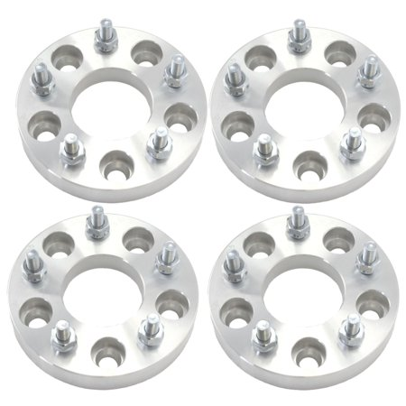 4pcs 25mm 5x100 Wheel Spacers Adapters | T6 6061 Billet | 12x1.5 Studs Chrysler Dodge Plymouth Toyota (Plymouth Acclaim Wheel)
