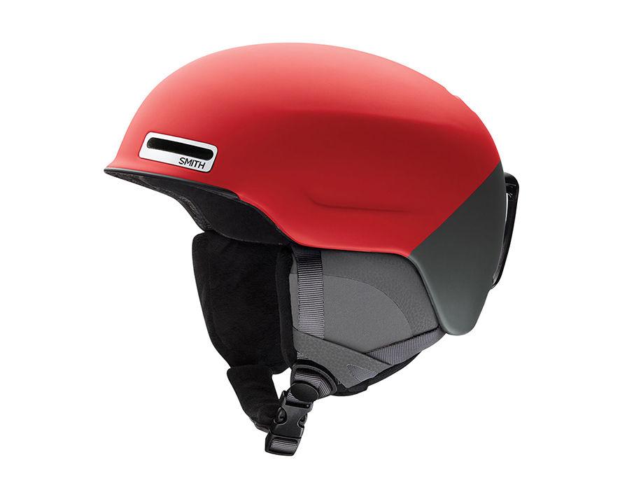 Smith Optics Maze Ski Snow Helmet (Matte Fire Split Medium) by Smith Optics