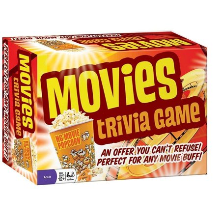 Movies Trivia Game (1 Piece), Maybe you're not sitting pretty with a best actor Oscar award, but you can win the movie buff bragger title when you.., By Cobble Hill (Buff Movie)