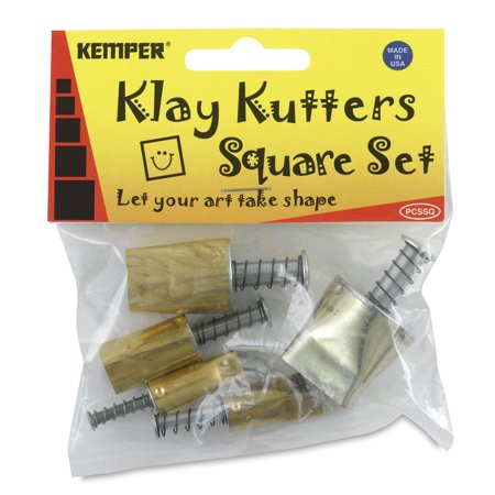 Kemper Pattern Cutters - Set of 5, Assorted, Square