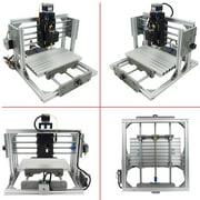 240x170x65mm 3 Axis Mini Desktop CNC Milling Machine Engraving Router DIY Kit With 2500mw Laser Engraver