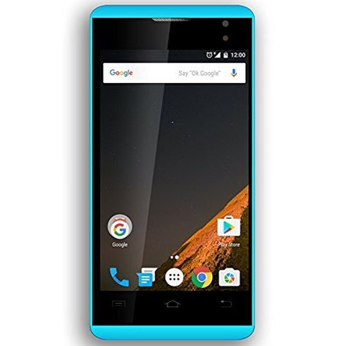 "Planet ""Figo"" Virtue 4.0 V2 3g 8gb  Unlocked Dual Sim Smartphone Blue"