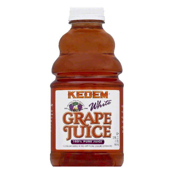 Kedem White Grape Pure 100% Juice, 32 Fo (Pack of 12)