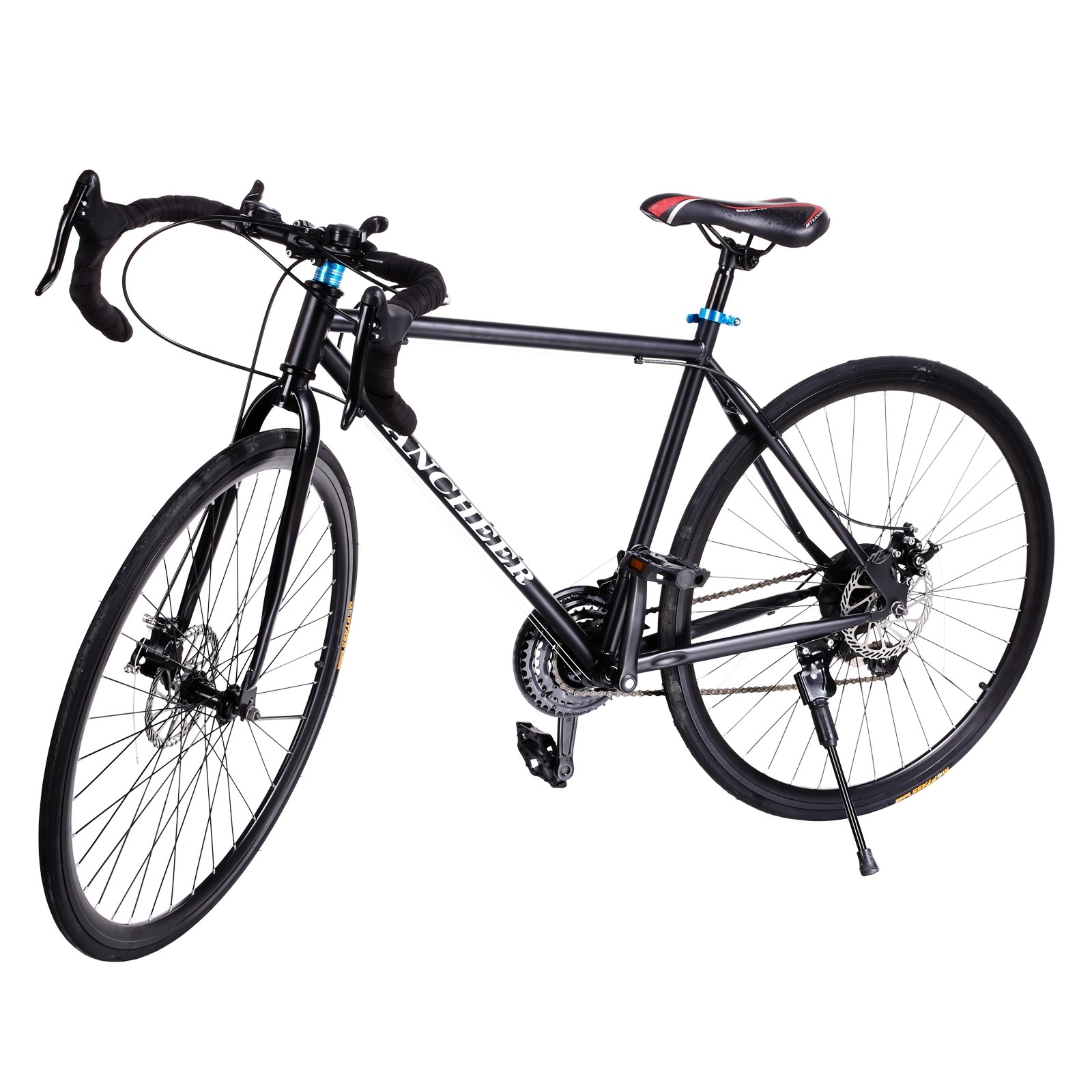 700c Road Bike Commuter Bike Shimano 21 Speed Aluminum Alloy Dual Disc brakes