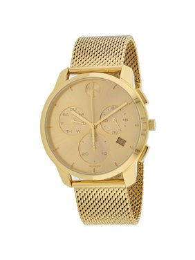 Movado Bold Thin Chronograph Gold-Tone Mens Watch 3600634