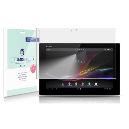 iLLumiShield Matte Screen Protector 2x for Sony Xperia Tablet Z SGP311 / (Sony Xperia Z Tablet Vs Ipad 4)
