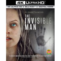 The Invisible Man (4K Ultra HD + Blu-ray + Digital Copy)