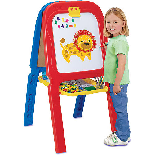 Crayola 3-in-1 Double Easel with Magnetic Letters