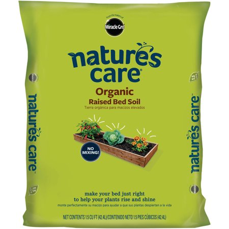 Miracle Gro Nature 39 S Care Organic Raised Bed Soil