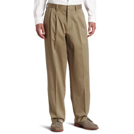 Dockers NEW Beige Mens Size 30x30 Relaxed-Fit Pleated Cuffed Khaki ...