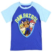PAW Patrol Toddler Boys' Sublimation Tee Short Sleeve T-Shirt, Sizes 2T-5T - Blue