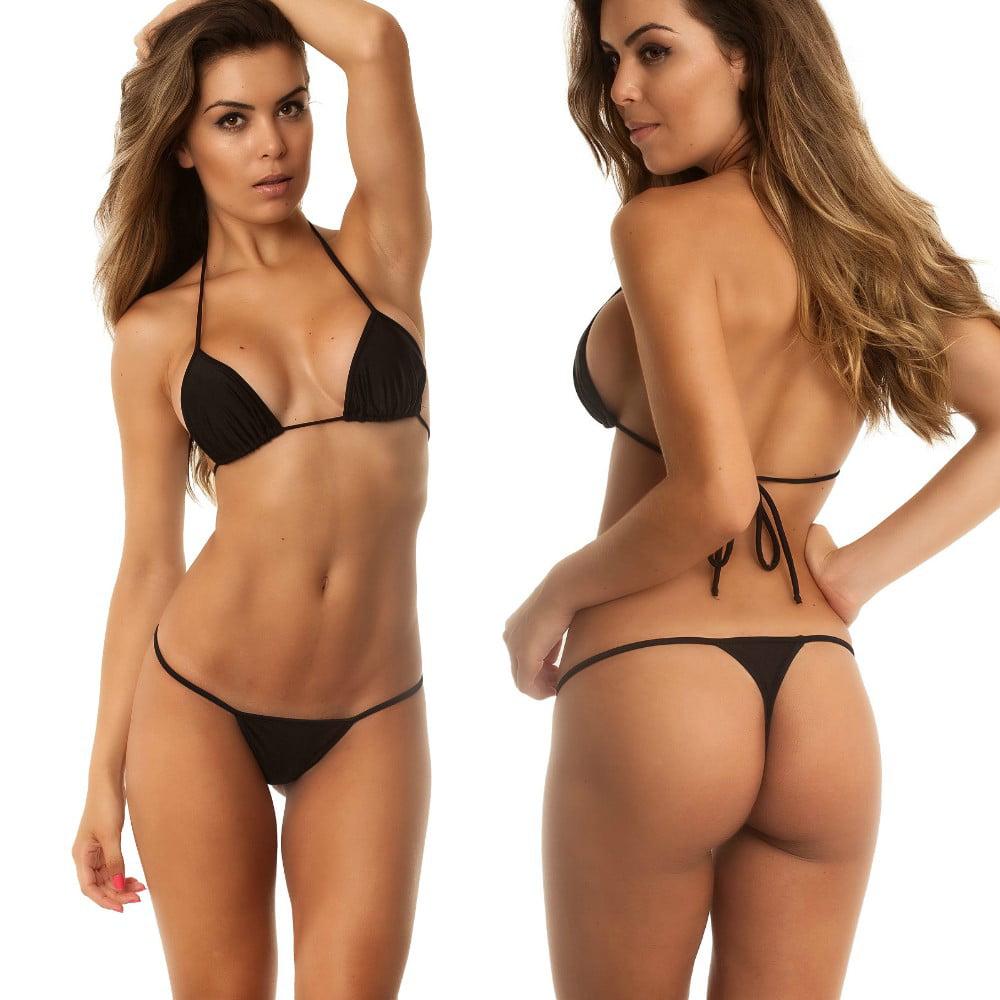 Details about  /Womens Micro Bikini Mini G-string Thongs Swimwear Swimsuit Underwear Lingerie