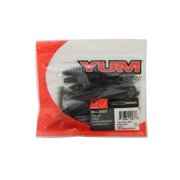 "Yum 3.75"" Kill Shot Soft Plastic DropShot Worm Ghost Shad Pack of 10, YKS3177"