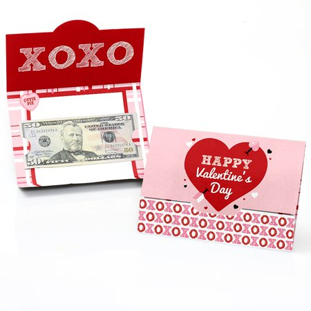 - Conversation Hearts - Valentine's Day Money And Gift Card Holders - Set of 8