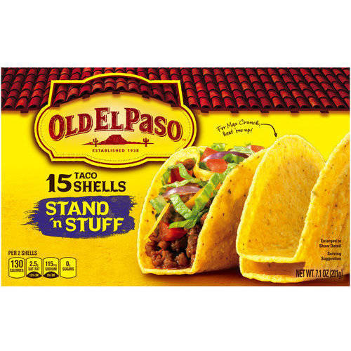 Old El Paso? Stand 'n Stuff Taco Shells 15 ct. Box