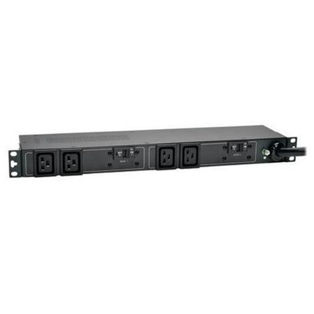 C19 Outlets (Tripp Lite PDU Basic 208V / 240V 5/5.8kW 30A C19 4 Outlet L6-30P Horizontal)