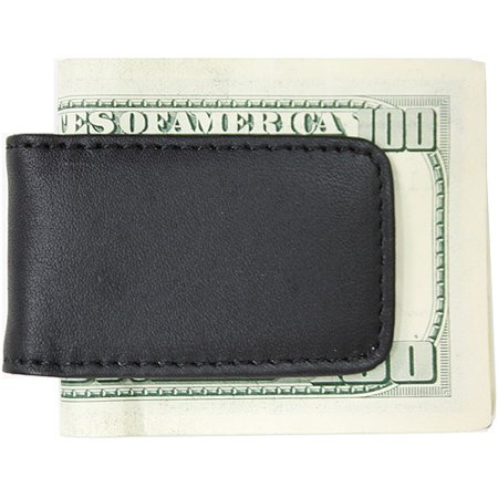 Royce Leather Classic Magnetic Money Clip with Suede Lining in Genuine Leather (Classic Money Clip)