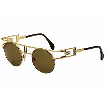 b2a02a592a2 CAZAL - Cazal Men s Legends 958 33 SG Gold Havana Brown Retro Fashion  Sunglasses 46mm - Walmart.com