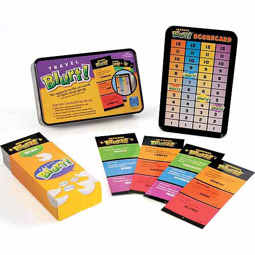 Travel Blurt Word Game by Educational Insights