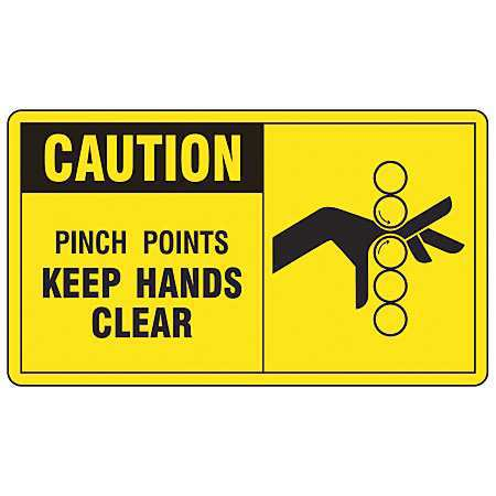 Safety Label,Information,3-1/2 In. H,PK5 ACCUFORM LEQM613VSP