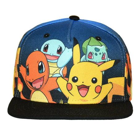 26271797e42 Pokemon - Pokemon Gotta Catch em All Youth Snapback Hat - Walmart.com