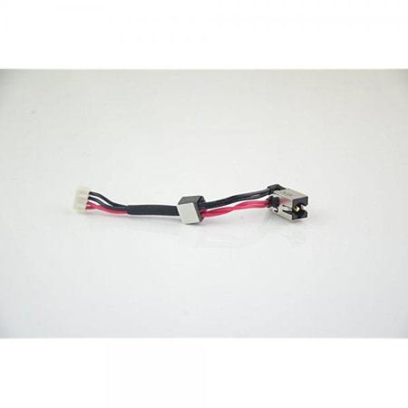 ts236825c7 toshiba laptop dc power jack for satellite a500, l455, l455d, l455d, l555, l555d series new dc jack center pin diameter: 2.5mm with harness/cable