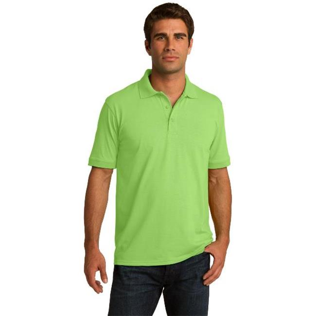 Port & Company® Core Blend Jersey Knit Polo. Kp55 Lime 2Xl - image 1 of 1