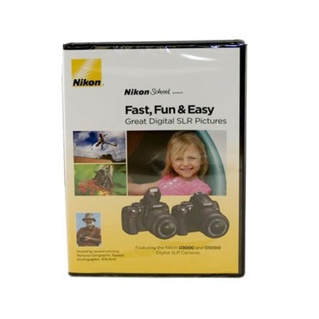 Masterworks dvd: jumpstart guide to the nikon d3000 jsgnd3000.