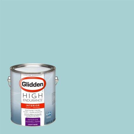 Glidden High Endurance, Interior Paint and Primer, Aqua Chintz, # 90GG 57/146