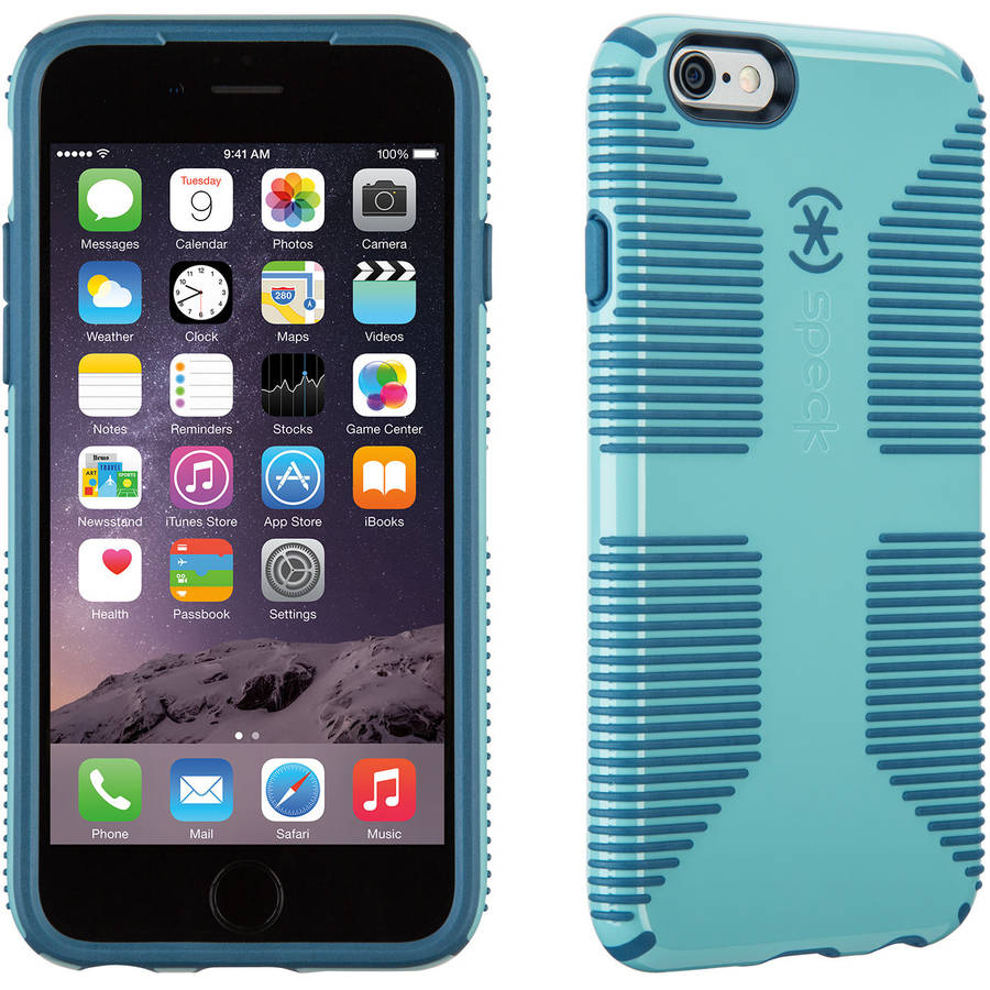 Speck CandyShell Grip for Apple iPhone 6/6s, River Blue/Tahoe Blue