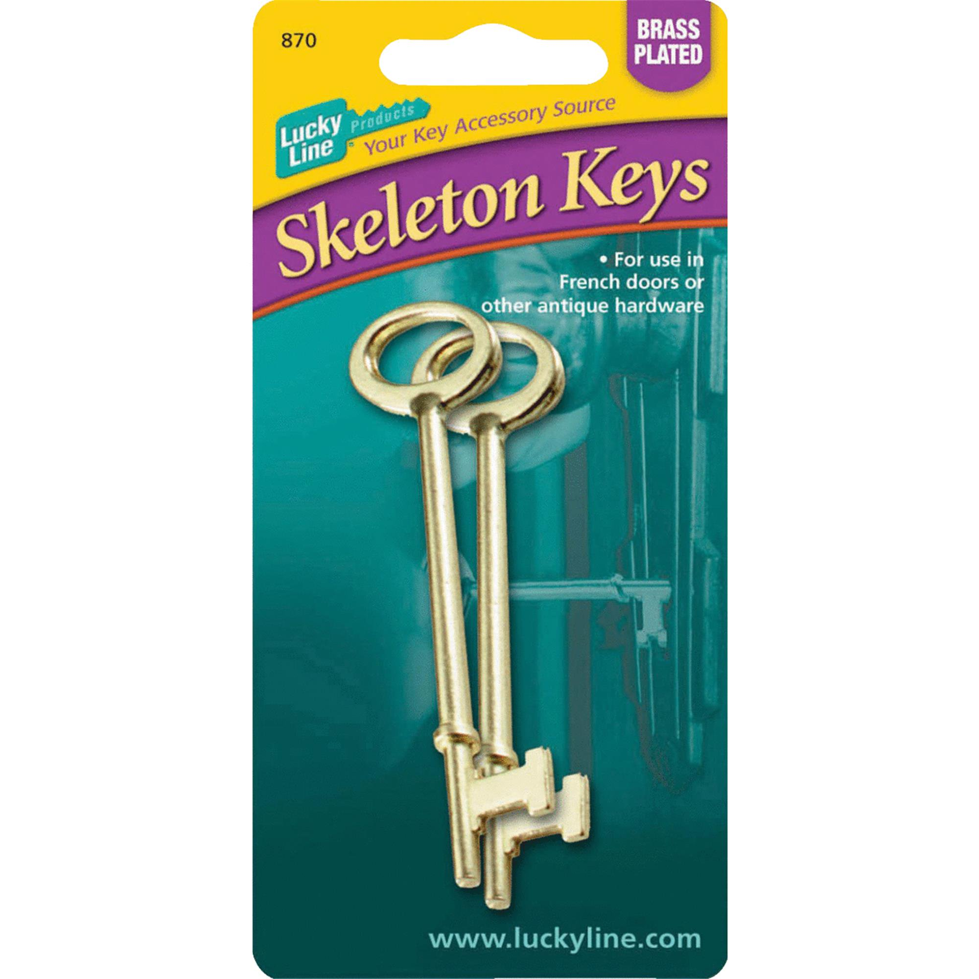 Lucky Line Skeleton Key