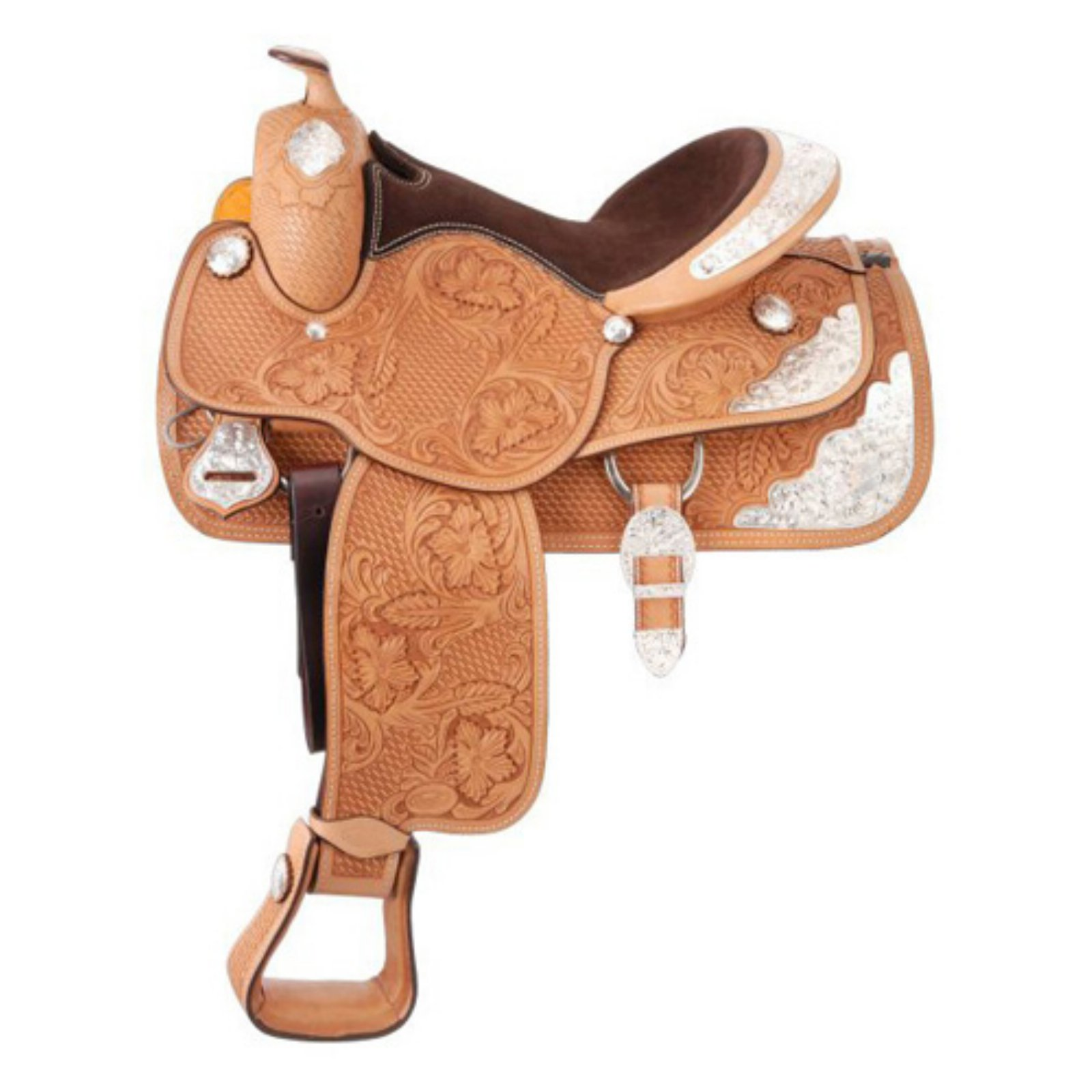 Silver Royal Premium Challenger Show Saddle