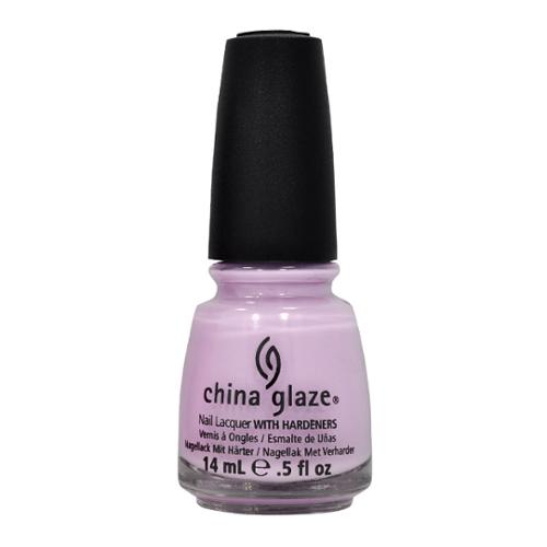 China Glaze 0.5oz Nail Polish Lacquer Clay Purple, SWEET HOOK, 80745