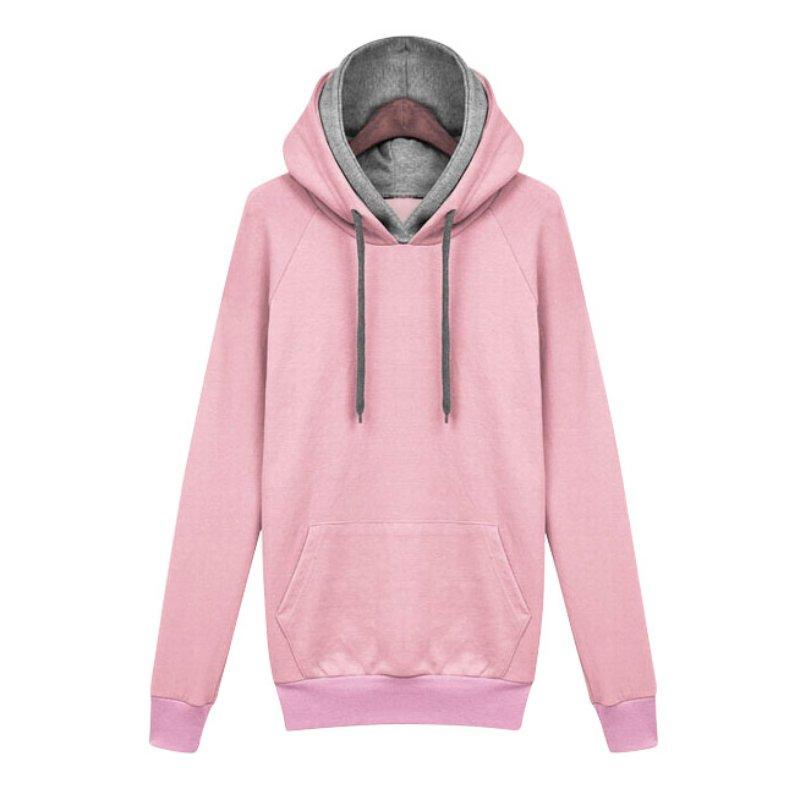 Women Hoodie Sweatshirt Ladies Pullover Female Autumn Winter Casual Hooded Coat