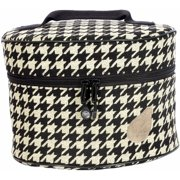 Bluefig Pearl District Mini-Carry Case-Ebony - Black Houndstooth