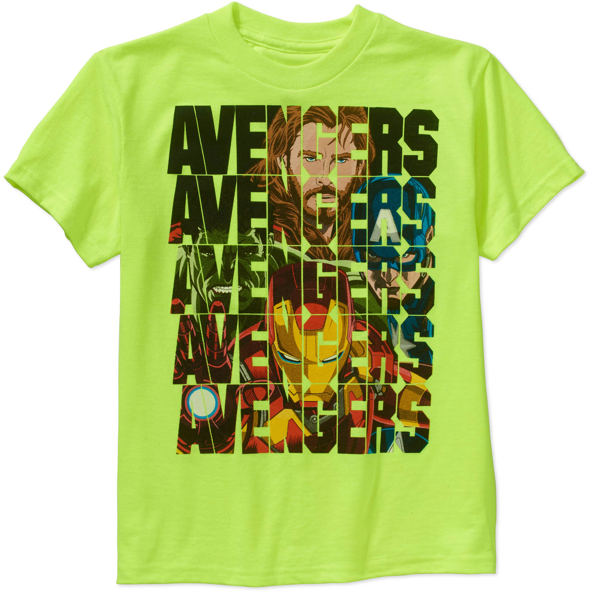 Marvel Avengers Avenge Type Boys' Graphic Tee