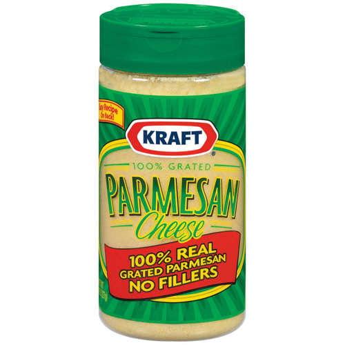 Kraft 100% Grated Parmesan Cheese 8 oz. Shaker by Kraft Foods, Inc.
