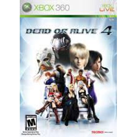 Dead or Alive 4- Xbox 360 (Refurbished) (Dead Or Alive 5 Ultimate Halloween)