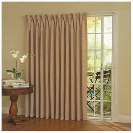Eclipse Thermal Energy Efficient Blackout Patio Door Curtain Panel