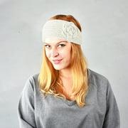 Women's fashion hair accessories elastic knit warmth sports hair band sweet