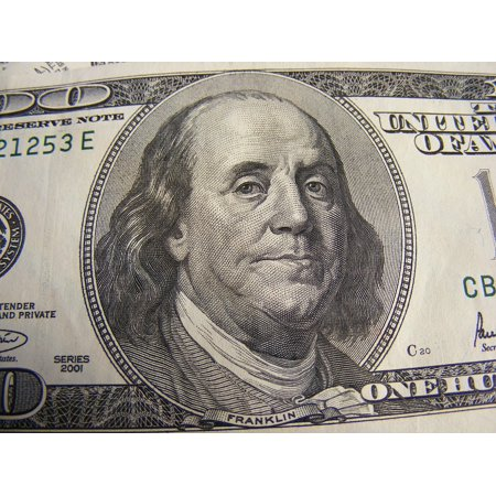 Laminated Poster Finance Dollar Money Currency Dollars Cash Poster Print 24 X 36